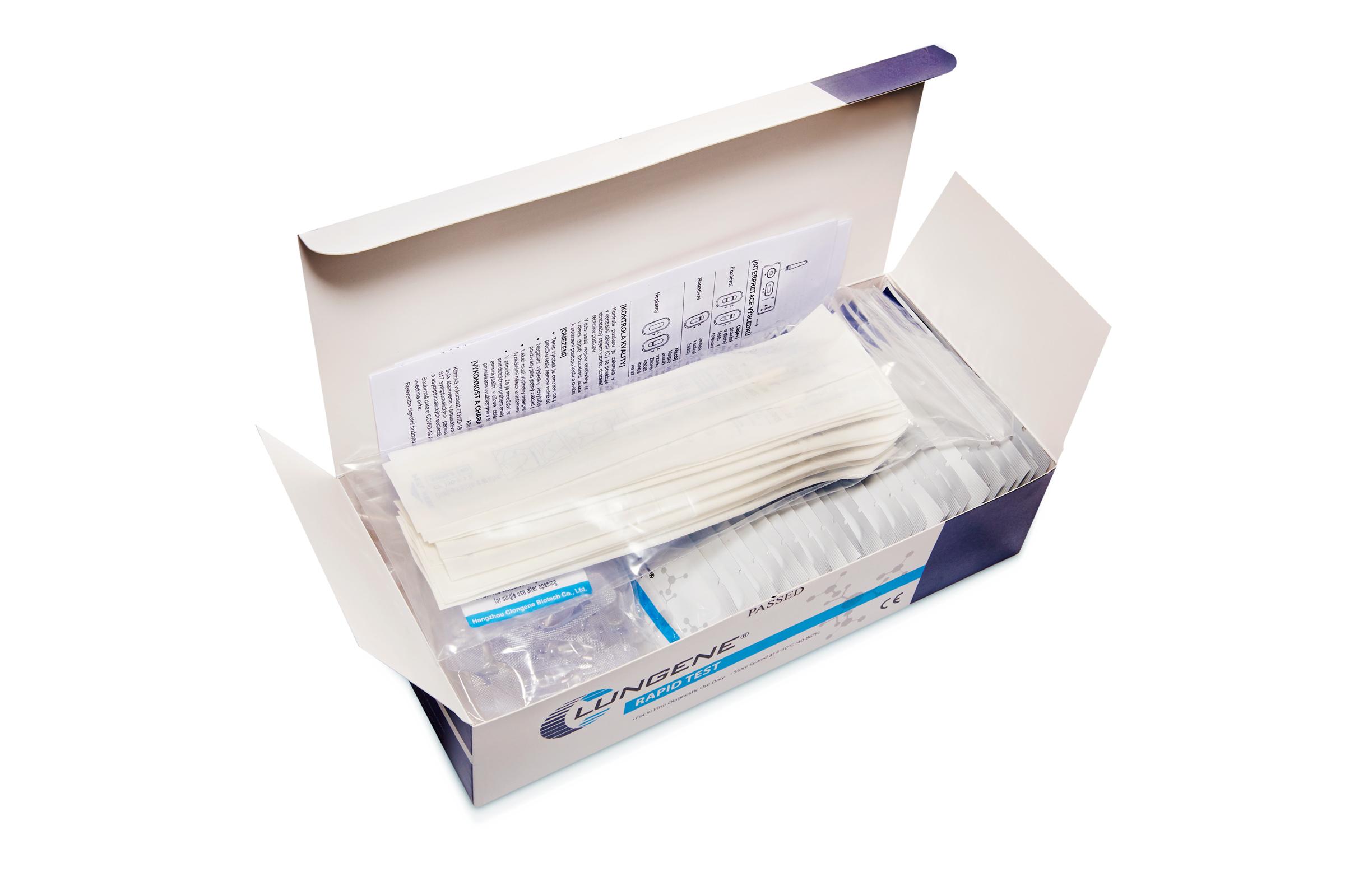 Clungene Covid-19 Antigen Test - 25 Stück