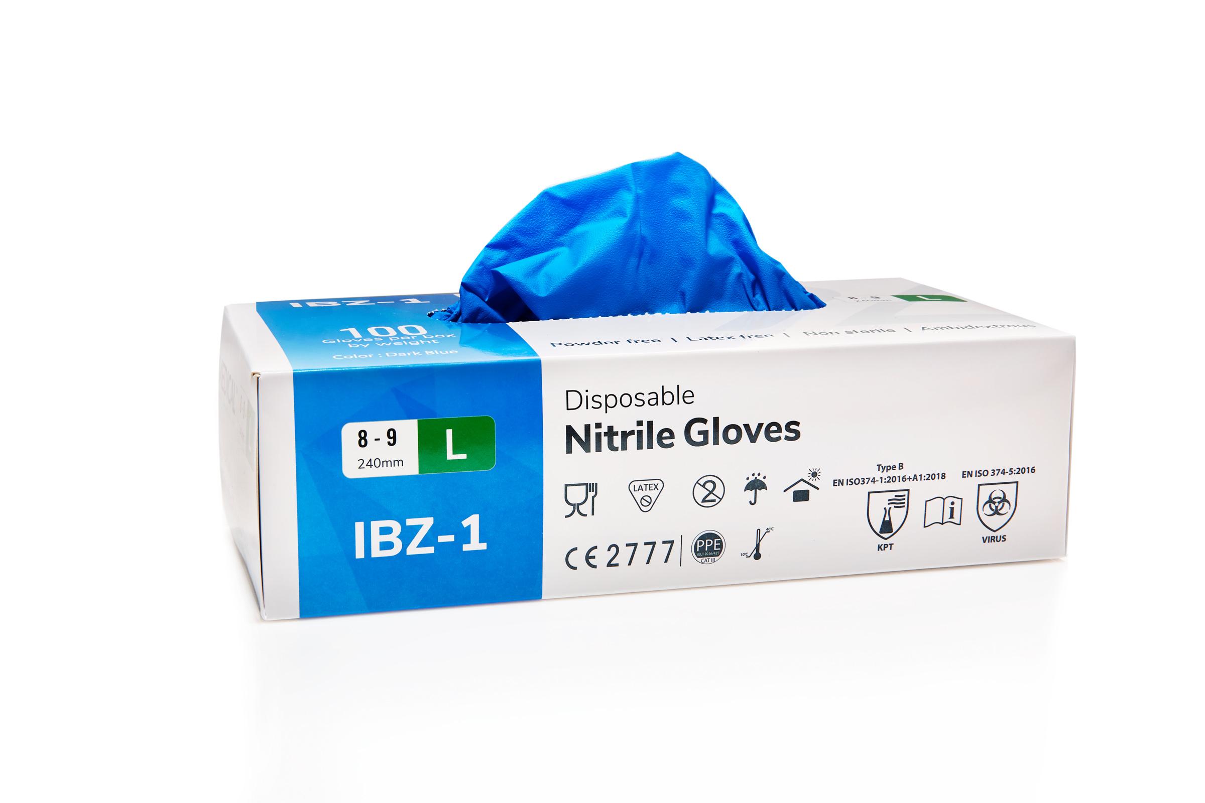 Nitril Handschuhe - 100 Stück