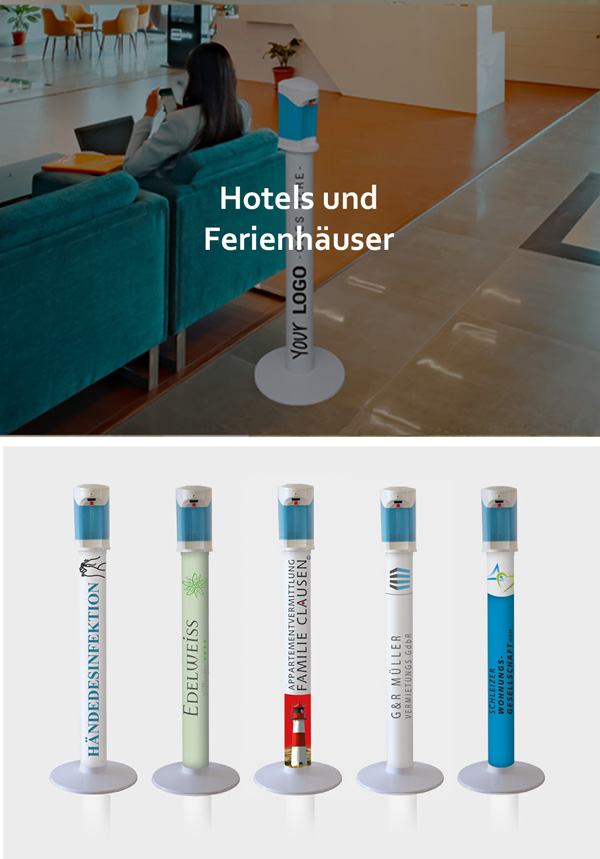 Hotels und Ferienhäuser
