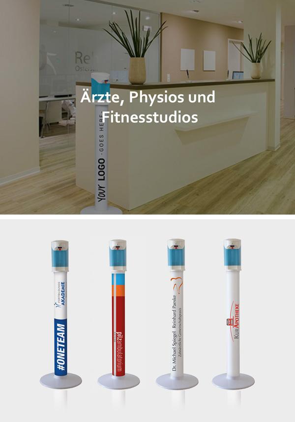 Ärzte, Physios und Fitnessstudios